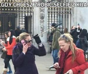 Gdy chcesz zrobić selfie z kija