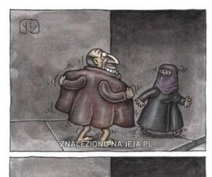 Lepiej nie drażnić muzułmanki!