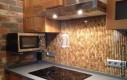 Korkowa ściana w kuchni