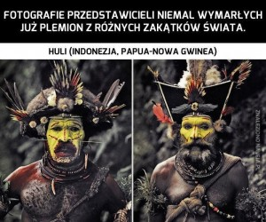 Niemal wymarłe plemiona z różnych zakątków świata