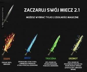 Zaczaruj swój miecz