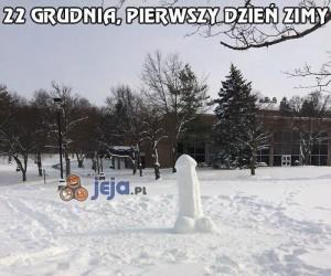 Powitajmy pierwszy dzień zimy!