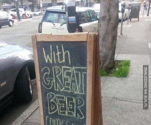 Z wielkim piwem przychodzi wielka odpowiedzialność