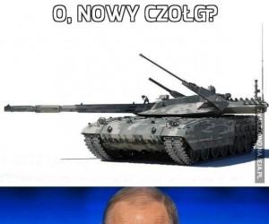 O, nowy czołg?