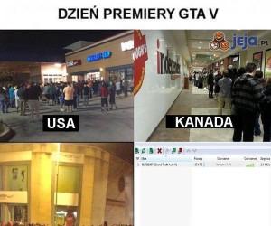 Dzień premiery GTA V