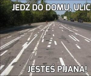 Jedź do domu, ulico...