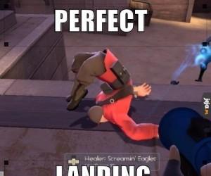 Perfekcyjne lądowanie
