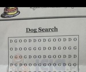 """Znajdź słowo """"Dog"""""""