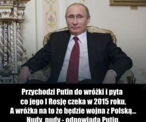 Putin u wróżki