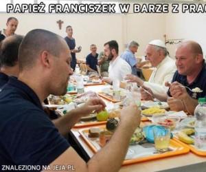 Franciszek to towarzyski gość