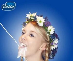Reklama mleka z Finlandii
