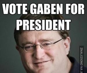Gaben na prezydenta!