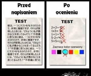 Dwa oblicza testu
