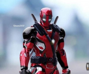 Gdyby Deadpool wykradł technologię od Iron Mana