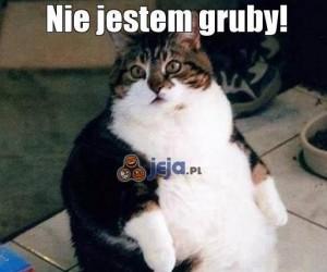 Nie jestem gruby!