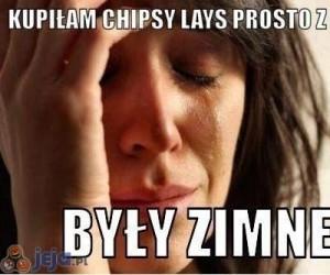 Chipsy prosto z pieca