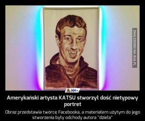 Amerykański artysta KATSU stworzył dość nietypowy portret