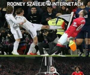 Rooney szaleje w Internetach