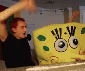 Spongebob w wolnym czasie