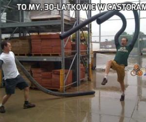 To my, 30-latkowie w Castoramie!