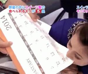 Japoński teleturniej: Czy to jest zrobione z czekolady?