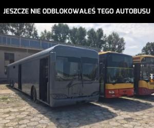 Ten autobus jest niedostępny