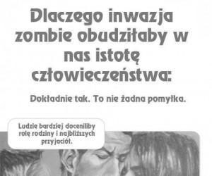 Zombie ratują człowieczeństwo