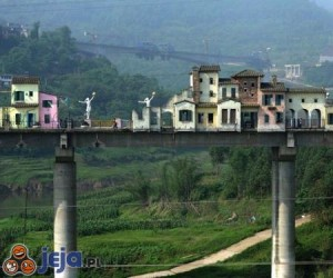 Miasto na moście