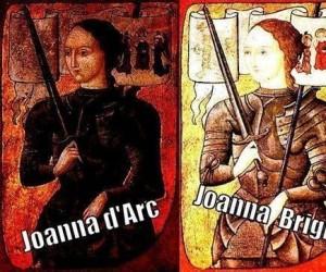 Joanna w dwóch wydaniach