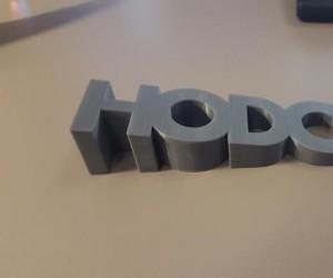 Wydrukowana w 3D pod drzwi
