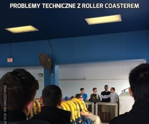 Problemy techniczne z roller coasterem