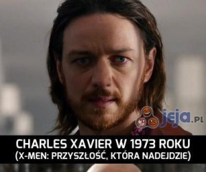 Profesor Xavier szybko się postarzał...