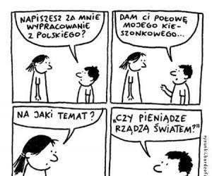 Wypracowanie z polskiego