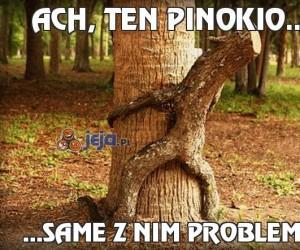 Ach, ten Pinokio...