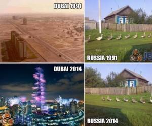 Dubaj vs Rosja