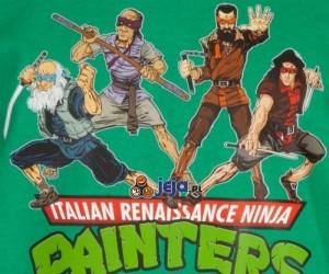 Włoscy renesansowi ninja malarze!