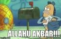 Spongebob przeszedł na islam