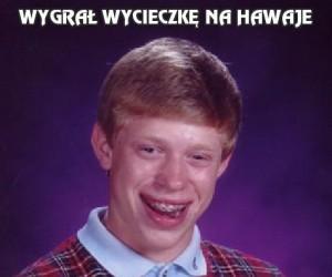 Wygrał wycieczkę na Hawaje