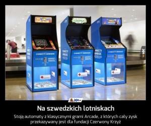 Na szwedzkich lotniskach