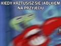 Częsty widok na polskich biesiadach