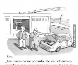 Gadający samochód