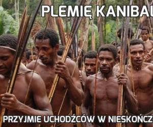 Plemię kanibali
