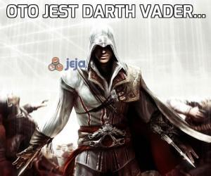 Oto jest Darth Vader...