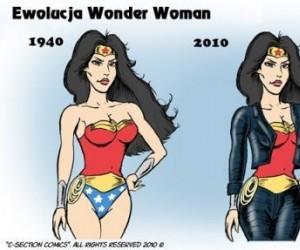 Ewolucja Wonder Woman