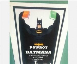 Batman ma dosyć kampanii społecznych