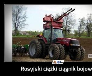 Rosyjski ciężki ciągnik bojowy