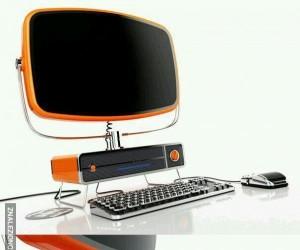 Całkiem ciekawy retro komputer