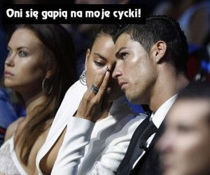 Ronaldo zaraz zrobi z Wami porządek