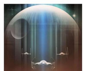 Plakaty Gwiezdnych Wojen wykonane przez fana