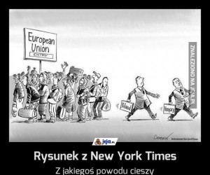 Rysunek z New York Times